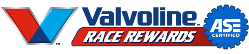 Valvoline Race Rewards Program